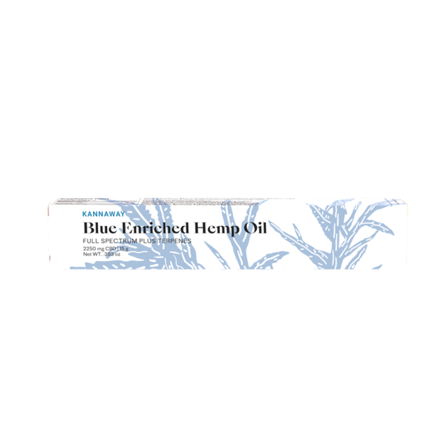 Blue Enriched Hemp Oil - 2250mg