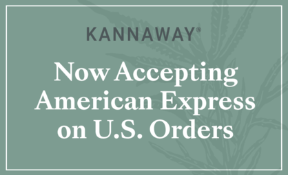 Now Accepting American Express on U.S. Orders
