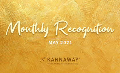 May 2021 Recognition