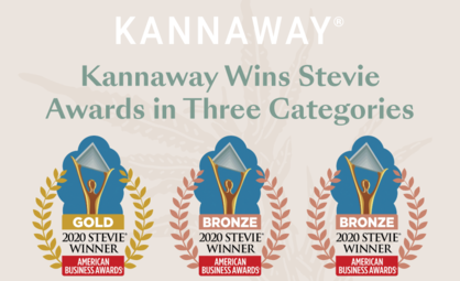 Kannaway Wins Three Stevie Awards