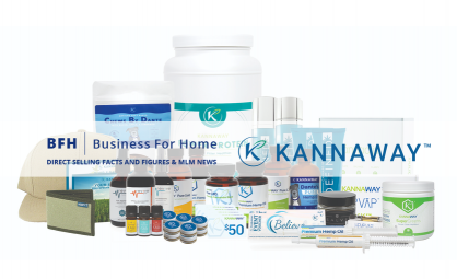 Kannaway's International Directors Renita & Scott Brannan Featured in Business for Home