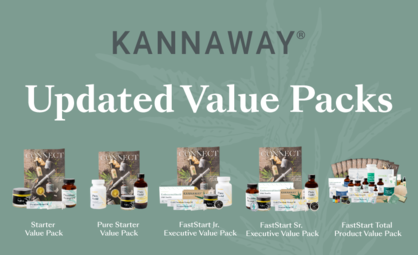 Kannaway Introduces New Value Packs