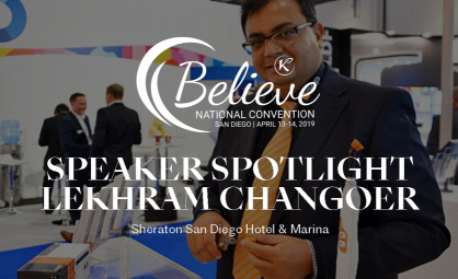 Lekhram Changoer of AXIM Biotechnologies a Featured Speaker at Believe Event
