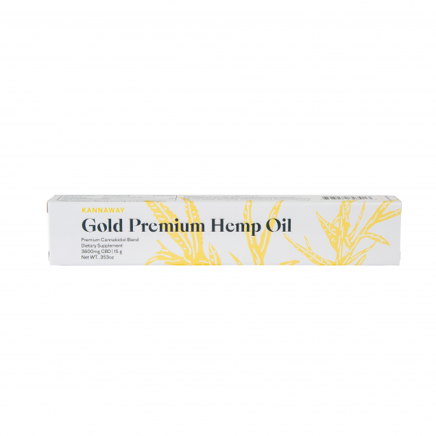Gold Premium Hemp Oil - Oral Applicator
