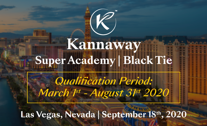 Get Ready for Kannaway's Super Academy Las Vegas Black Tie Event