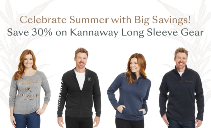 12 Hours Left to Save 30% on Kannaway Long Sleeve Gear