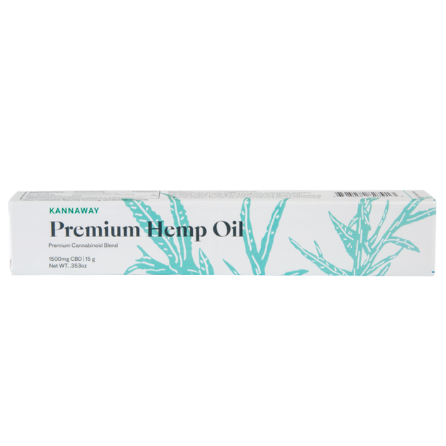 Premium Hemp Oil Oral Applicator - 1500mg