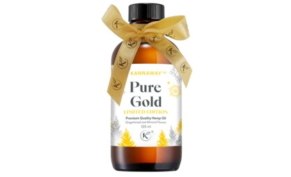 Introducing Limited-Edition Pure Gold Hemp Oil