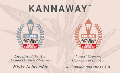 Kannaway Honored as Winner of Two International Business Awards