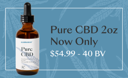 Save Big on Kannaway Pure CBD Liquid 2 oz