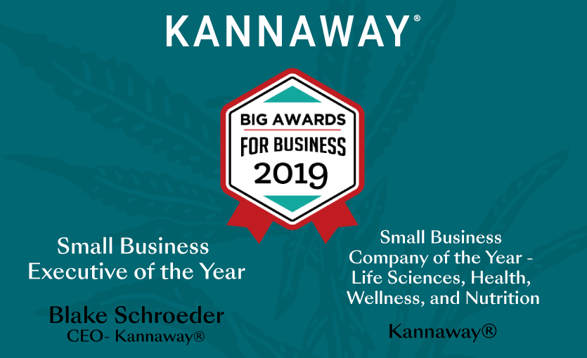 Kannaway Receives Two 2019 BIG Awards for Business