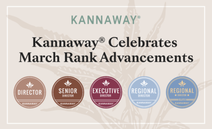 Kannaway Celebrates March Rank Advancements, Elite Repeats, and Top Enrollers!