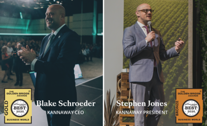 Kannaway Honored with 2020 Golden Bridge Business and Innovation Awards