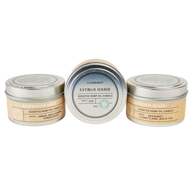 Hemp Candle Trio