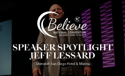Come Hear Crown Ambassador Elite Jeff Lessard Speak at Believe Event