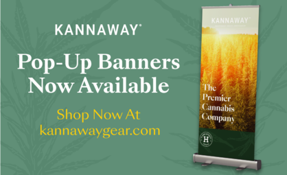 Kannaway Unveils New Pop-Up Banners
