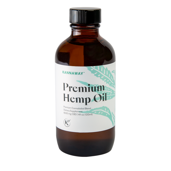 Premium Hemp Oil Liquid 1500mg