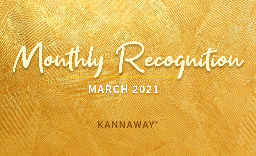 March 2021 Recognition
