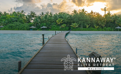Elite Retreat 2021 Moved to the Beautiful Maldives!