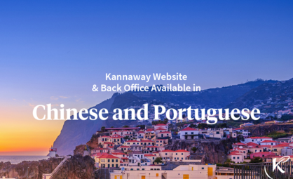 Kannaway Website & Back Office Available in Chinese and Portuguese