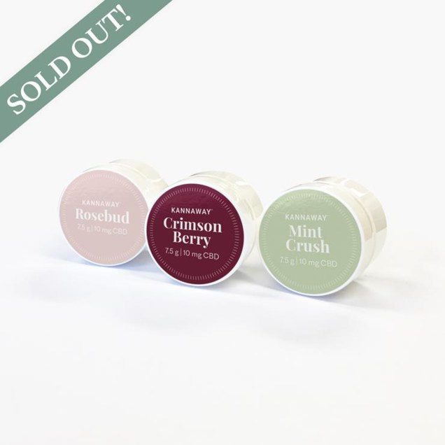 CBD Lip Balm Trio