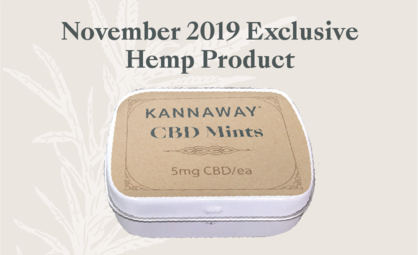 Announcing Limited Release of Kannaway's New CBD Mints