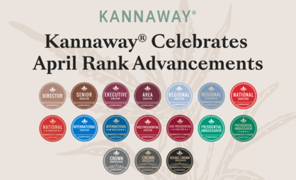 Kannaway Celebrates April Rank Advancements, Elite Repeats, Top Enrollers, and FastStart Restart Qualifiers!
