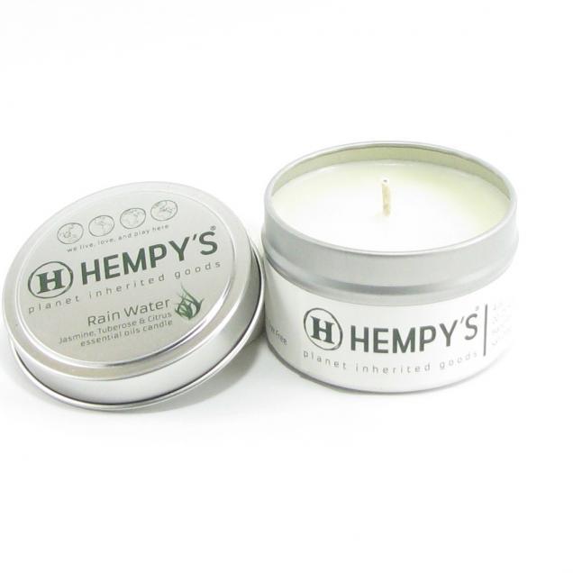 Hemp Candle - Rain Water