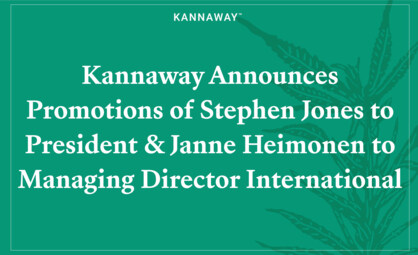 Kannaway Announces Promotions of Stephen Jones to President and Janne Heimonen to Managing Director International