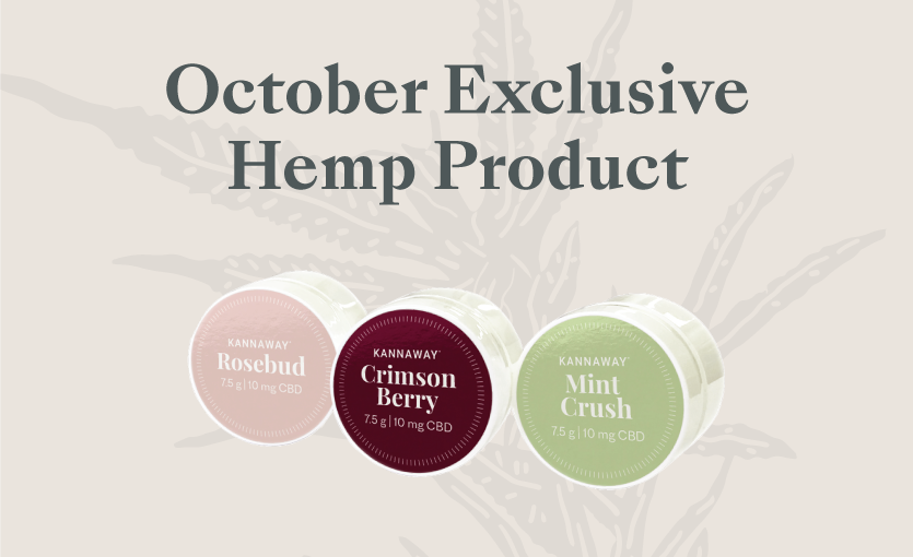 Announcing Limited Release of Kannaway's New CBD Lip Balm Trio