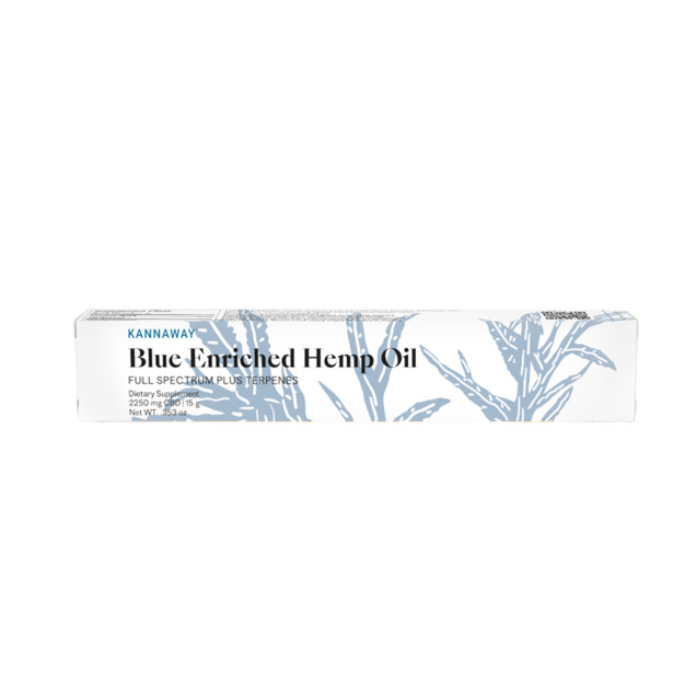 Blue Enriched Hemp Oil