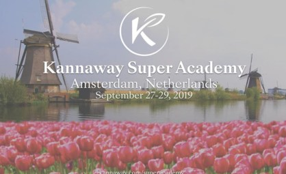 Kannaway Super Academy in Amsterdam this September