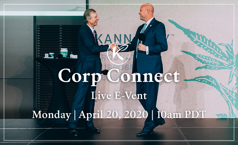Kannaway Hosting Upcoming Corp Connect E-Vent via Facebook Live