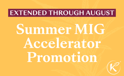 Summer MIG Accelerator Promo Extended Through August