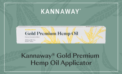 Product Spotlight: Kannaway® Gold Premium Hemp Oil Applicator