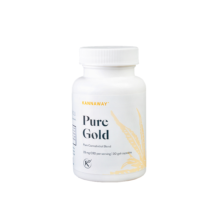 Pure Gold Gel Capsules
