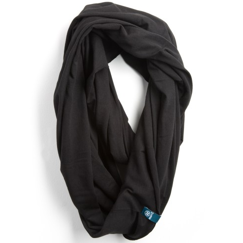 Bamboo Infinity Scarf - Black