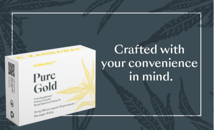Introducing Kannaway's Pure Gold Soft Gel Capsules