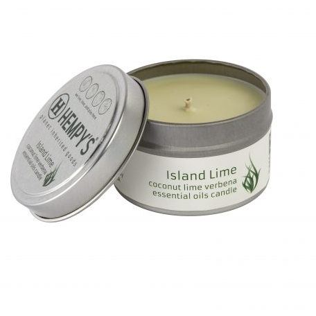 Hemp Candle – Island Lime