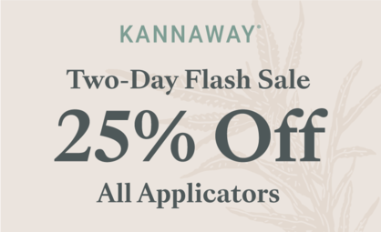Save Big During Kannaway's Two-Day Flash Sale