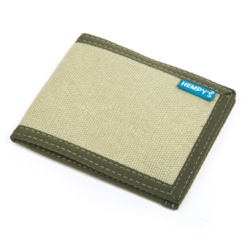 Slim Line Wallet - Green
