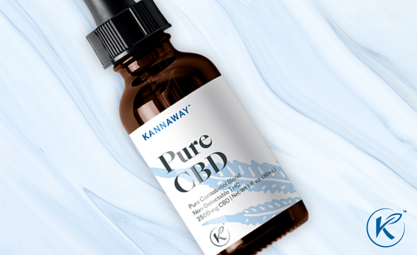 Kannaway Pure CBD Liquid Now Available in 2500 mg Concentration