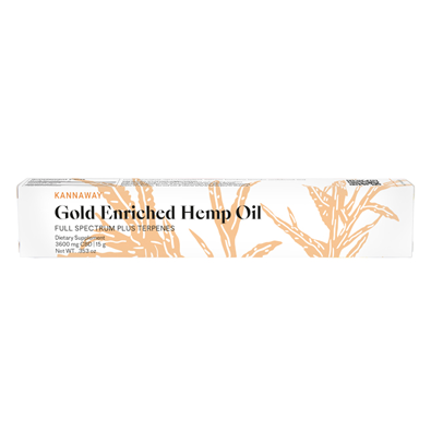 Gold Enriched Hemp Oil