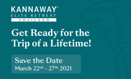 Kannaway Hosting Thailand Elite Retreat in March 2021