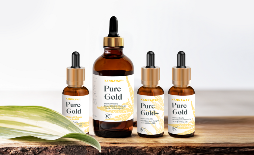 Pure Gold 120 ml Available with Pipette