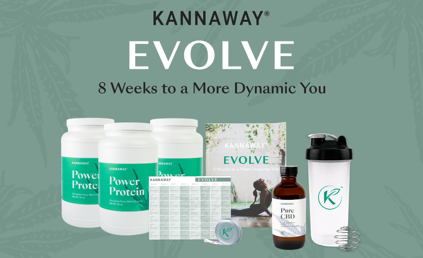 Evolve Your Fitness Today by Joining Kannaway's New Evolve Program