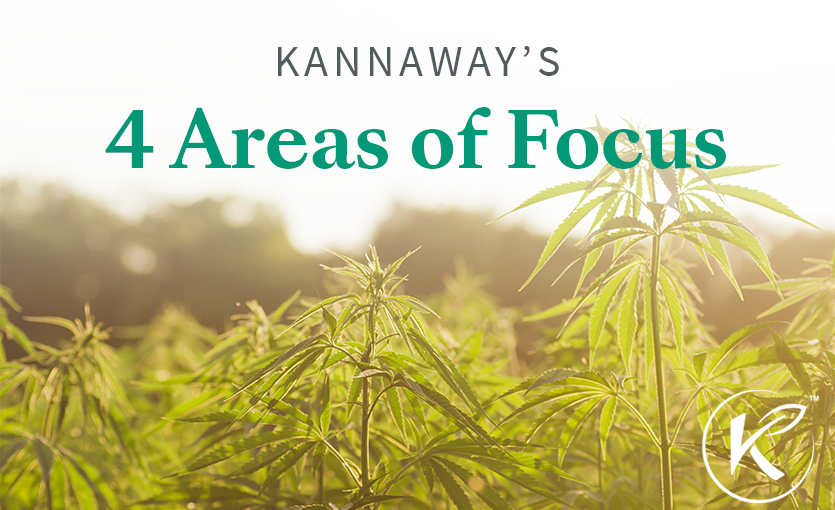 Kannaway's 4 Areas of Focus