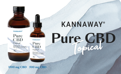 Announcing Release of New Pure CBD Topical