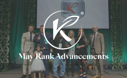 Celebrate Rank Advancements in May