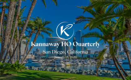 Announcing Kannaway's New HQ Quarterly Event